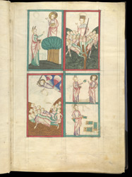 Events From The Book of Exodus, In James Le Palmer's Encyclopaedia 'All Good Things' f.4r